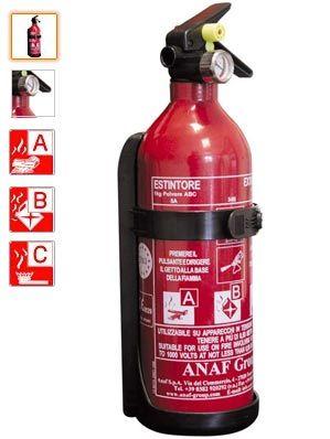 Extintor Polvo 1k