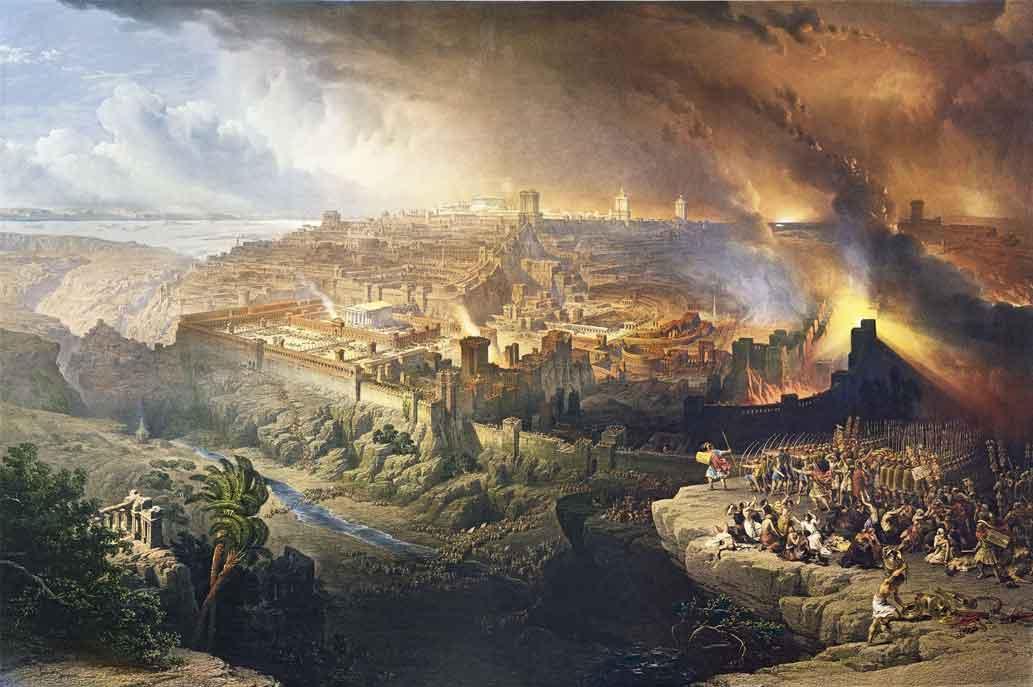 Incendio en Jerusalén