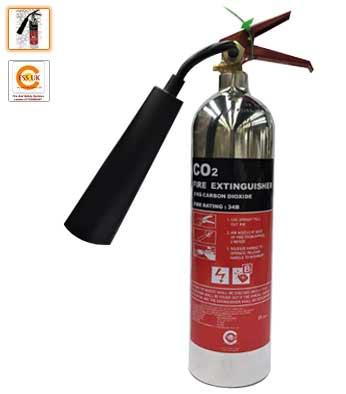 extintor co2 de cromo