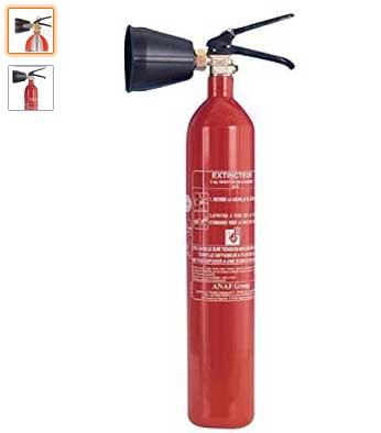 Extintor CO2 ANAF