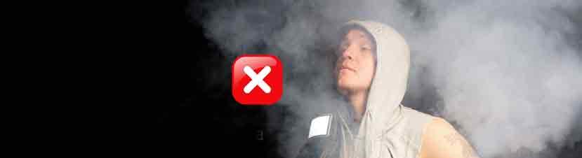 aspirar humo