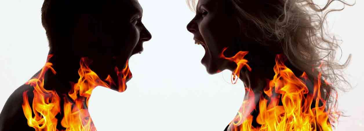 pelea de pareja