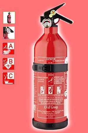 Extintor ANAF 1k