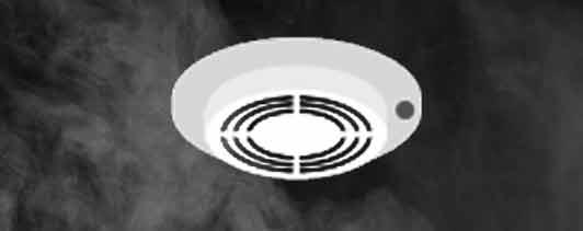 detector humo iónico